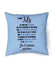 "À Mon Fils - Perfect Gift Indoor Pillow - 16"" x 16"" thumbnail"