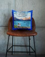 CADEAU PETIT FILS - PERFECT GIFT  Square Pillowcase aos-pillow-square-front-lifestyle-04