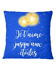 CADEAU PETIT FILS - PERFECT GIFT  Square Pillowcase back
