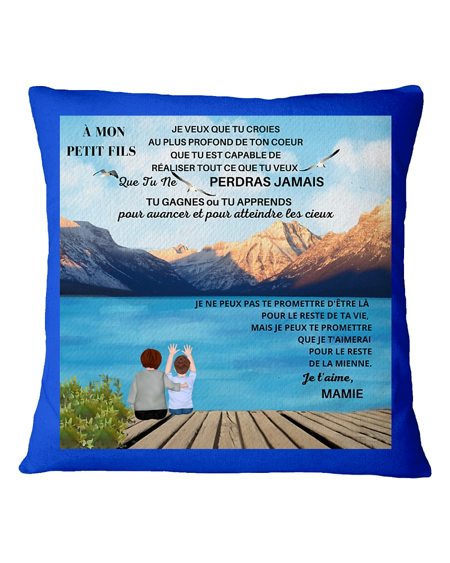 CADEAU PETIT FILS - PERFECT GIFT  Square Pillowcase