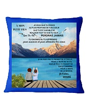 CADEAU PETIT FILS - PERFECT GIFT  Square Pillowcase front
