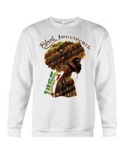 Girl Black Juneteenth since 1865 shirt Crewneck Sweatshirt thumbnail