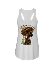 Girl Black Juneteenth since 1865 shirt Ladies Flowy Tank thumbnail