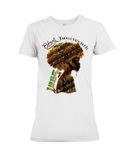 Girl Black Juneteenth since 1865 shirt Premium Fit Ladies Tee thumbnail