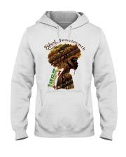 Girl Black Juneteenth since 1865 shirt Hooded Sweatshirt thumbnail