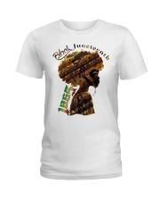 Girl Black Juneteenth since 1865 shirt Ladies T-Shirt thumbnail
