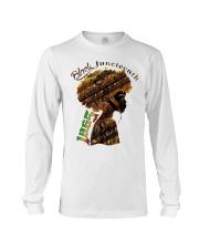 Girl Black Juneteenth since 1865 shirt Long Sleeve Tee thumbnail
