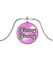 Yummy Yummy Metallic Circle Necklace thumbnail
