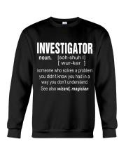 HOODIE INVESTIGATOR Crewneck Sweatshirt thumbnail