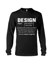 HOODIE DESIGN Long Sleeve Tee thumbnail