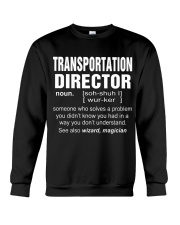 HOODIE TRANSPORTATION DIRECTOR Crewneck Sweatshirt thumbnail