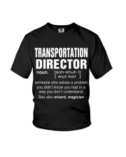 HOODIE TRANSPORTATION DIRECTOR Youth T-Shirt thumbnail