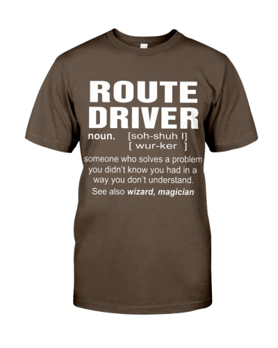 HOODIE ROUTE DRIVER