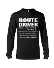 HOODIE ROUTE DRIVER Long Sleeve Tee thumbnail