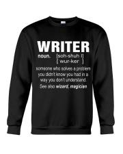 HOODIE WRITER Crewneck Sweatshirt thumbnail