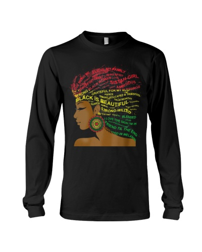 BLACK IS BEAUTIFUL STRONG - LIMITED EDITION