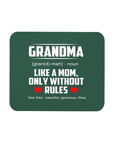 Womens Grandma Definition Shirt Funny Gift for Gra