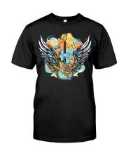 wings of guitar Premium Fit Mens Tee thumbnail