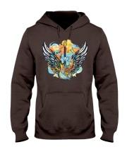 wings of guitar Hooded Sweatshirt front