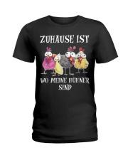 Hühner  Ladies T-Shirt front