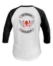 Canadian Army Vets - LIMITED EDITION  Baseball Tee thumbnail