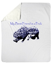 "My Prick My Friend Sherpa Fleece Blanket - 50"" x 60"" thumbnail"