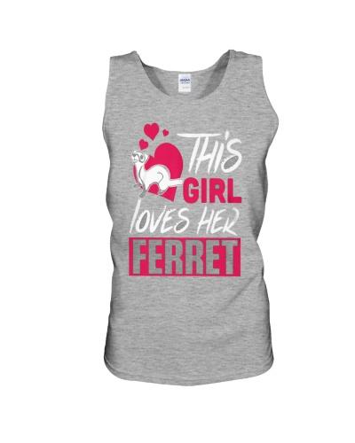This Girl Loves Her Ferret