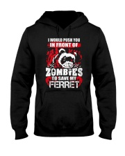I Push You In  Hooded Sweatshirt thumbnail