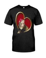 Mother's Day Ferret Classic T-Shirt thumbnail
