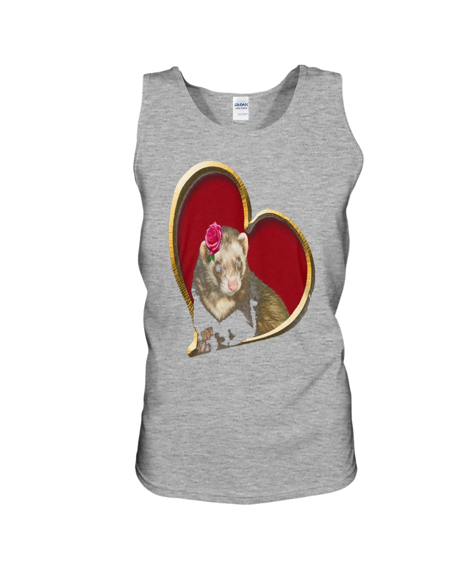 Mother's Day Ferret Unisex Tank
