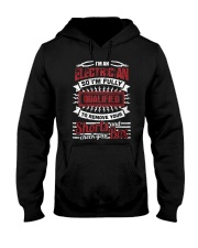 I'm An Electricianback Hooded Sweatshirt thumbnail