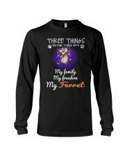 Three Things Ferret Freedom Family Long Sleeve Tee thumbnail