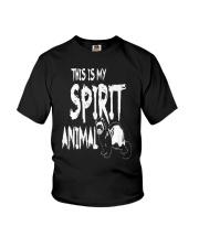 My Spirit Animal Pet Ferret Youth T-Shirt thumbnail