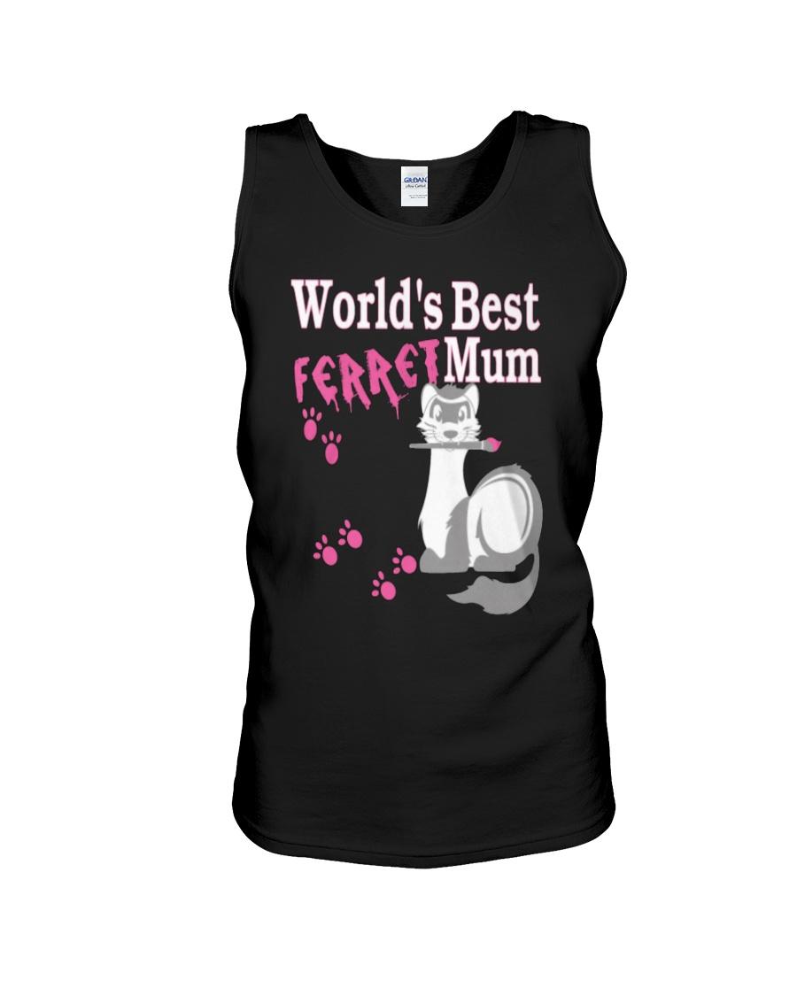 World's Best Ferret Mum Unisex Tank