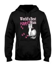 World's Best Ferret Mum Hooded Sweatshirt thumbnail