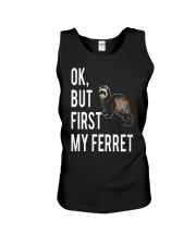 Ok but first FERRET Unisex Tank front