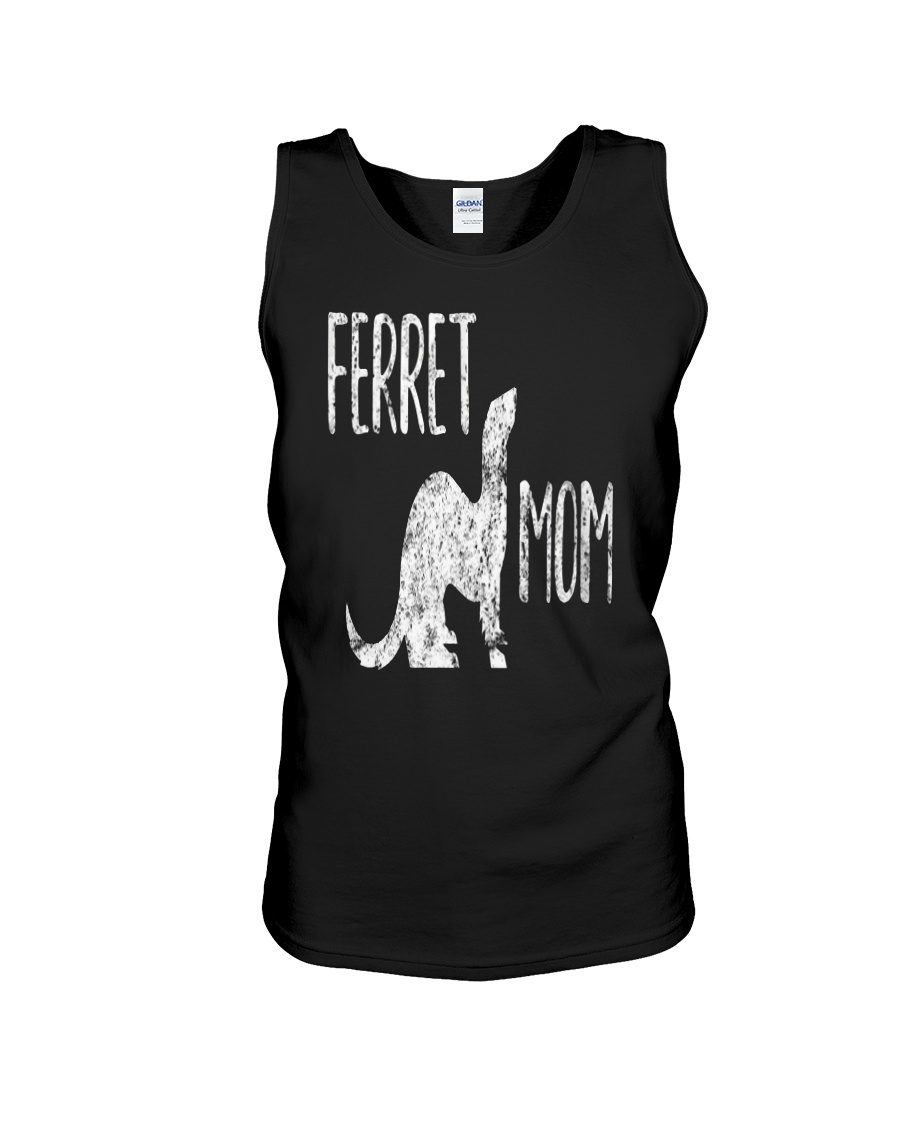 Ferret Shirt for Women Ferret Mom Unisex Tank