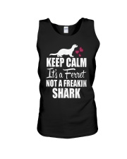 KEEP CALM IT'S A FERRET Unisex Tank front