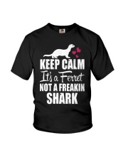 KEEP CALM IT'S A FERRET Youth T-Shirt thumbnail