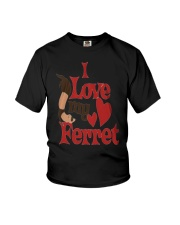 I love my Ferret Youth T-Shirt tile