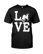 I Love Ferrets  Classic T-Shirt thumbnail