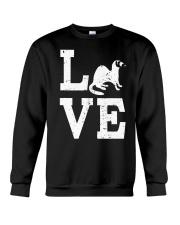 I Love Ferrets  Crewneck Sweatshirt thumbnail