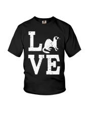 I Love Ferrets  Youth T-Shirt thumbnail