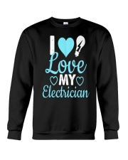I Love My Electrician Crewneck Sweatshirt thumbnail