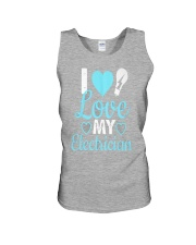 I Love My Electrician Unisex Tank front