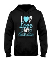 I Love My Electrician Hooded Sweatshirt thumbnail