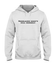 Ghislaine Didn't Kill Herself Hooded Sweatshirt thumbnail