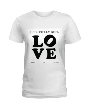 philly girl Ladies T-Shirt front