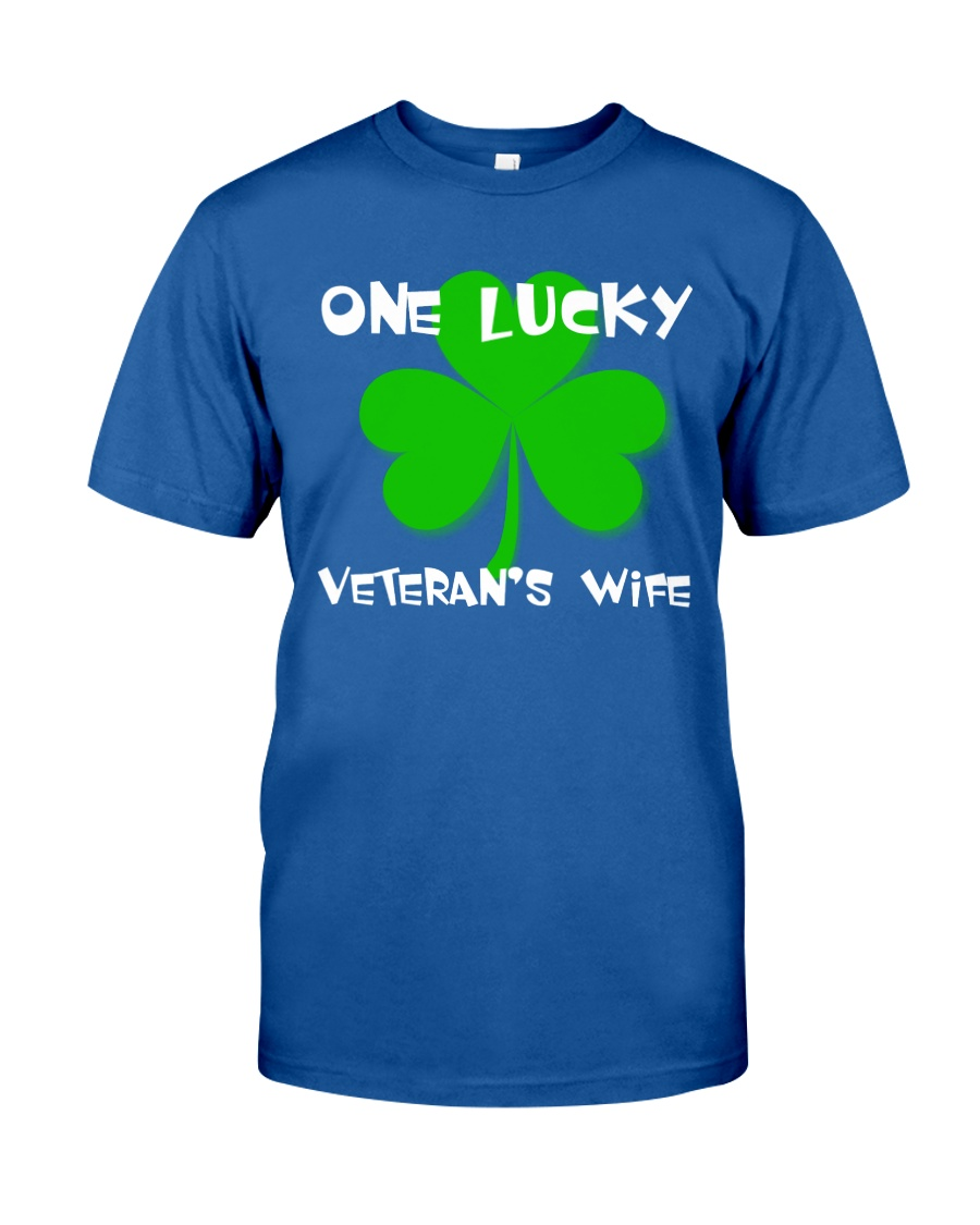 One Lucky Veteran's Wife Classic T-Shirt