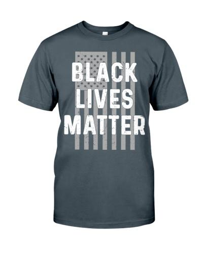 Black Lives Matter American Flag Gift